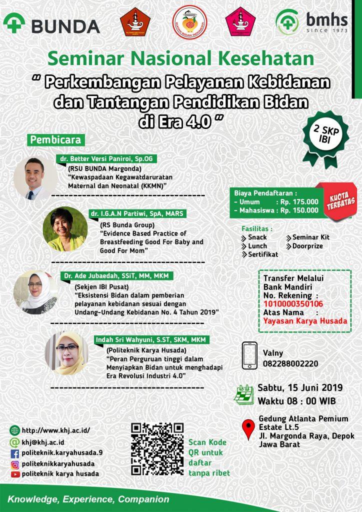 Seminar Nasional Kesehatan Politekni Karya Husada